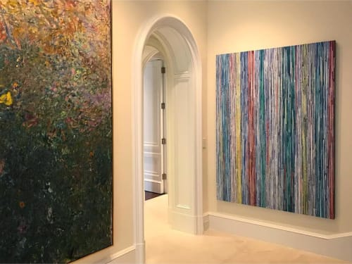 Paintings by Doug Argue seen at Private Residence, New York - Painting 2