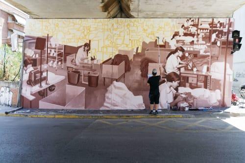 RU8ICON1 Contemporary Murals - Murals and Art