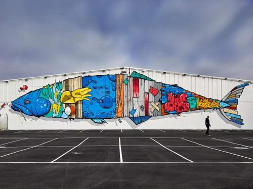 Dan Wenn - Murals and Art