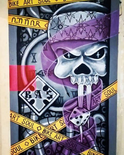 Street Murals by Muralist Indonesia seen at Jakarta, Jakarta - Harling Mural Art