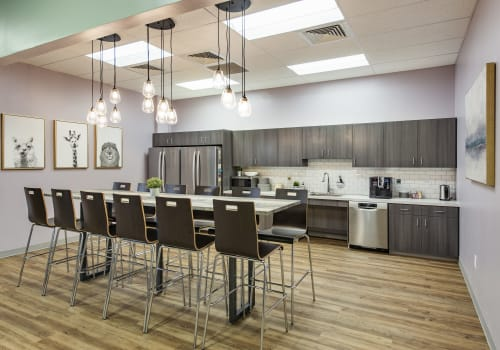Chairs by KFI Studio seen at MOBILion Systems, Inc, Chadds Ford - Chairs