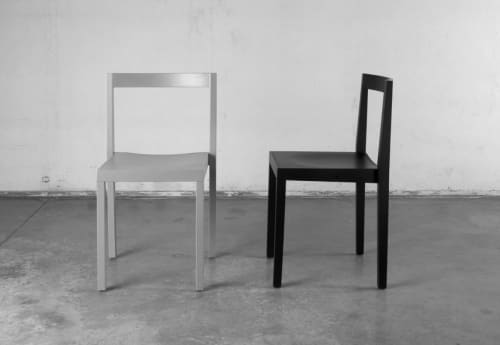Chairs by Bedont seen at studio C + partners, Breganze - Nord Chair
