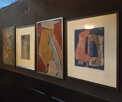 Paintings by Rob Delamater at The Saratoga, San Francisco - Various works