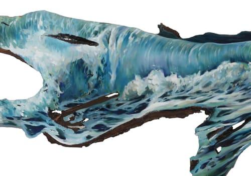Paintings by Lindsey Millikan (Milli) - Ocean #10
