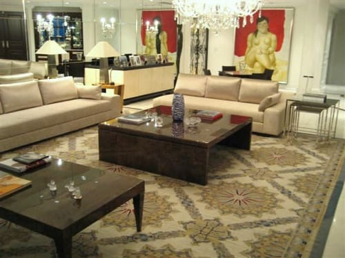 Rugs by MASTOUR Fine Rugs seen at Private Residence, Miami Beach - Custom Rug