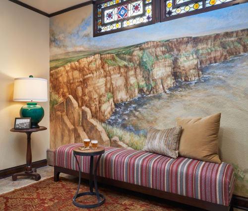 Murals by Lois Imogen Rhomberg seen at Private Residence, St Paul, Saint Paul - Mural