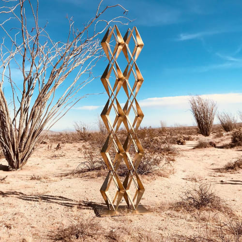 Public Sculptures by Christopher Puzio seen at Anza-Borrego Desert State Park, Borrego Springs - Oasis, 2018