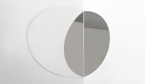 Wall Hangings by Valerie Windeck seen at Tonchin New York, New York - Anamorphosis Mirror