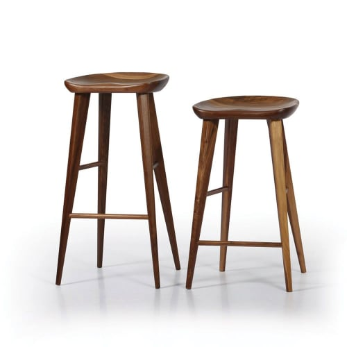 Furniture by Pfeifer Studio seen at 201 Mission St, San Francisco - High Ball Bar Stool