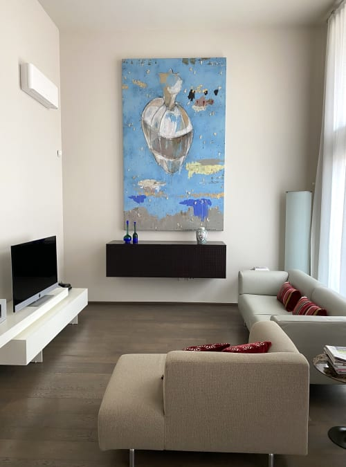 mixed media on canvas   Paintings by margherita martinelli
