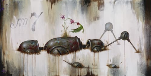 Johnny Rodriguez aka KMNDZ - Murals and Paintings