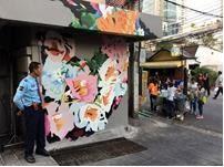 Street Murals by Ruskig Ångest seen at Bangkok, Bangkok - Love and Reality, 2017