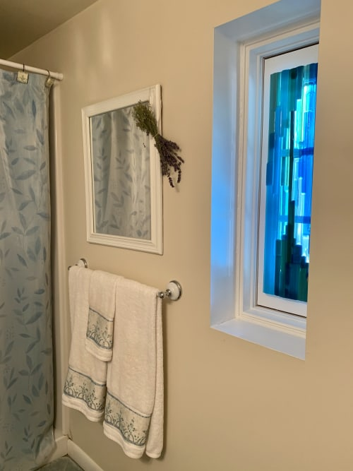 Wall Hangings by Natalie Ventimiglia seen at Private Residence, Suttons Bay - I Promise