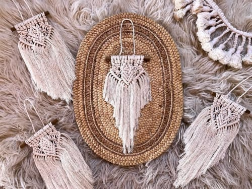 Irie Iris Designs by Alicia Siri - Macrame Wall Hanging and Art