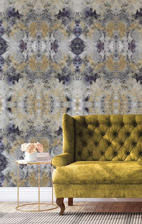 Wallpaper by Eso Studio seen at Creator's Studio, Grand Rapids - Blueberry Crumble