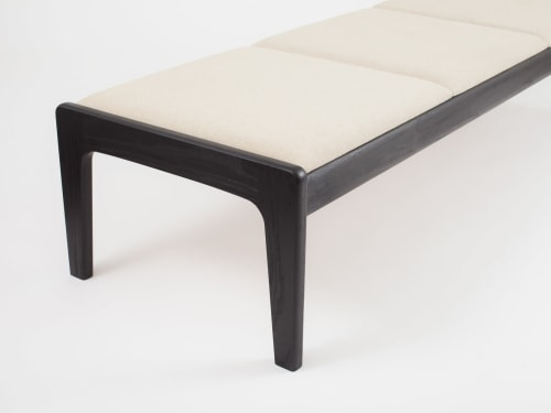 Benches & Ottomans by Asa Pingree seen at Swiss Institute, New York - Lapwing Bench