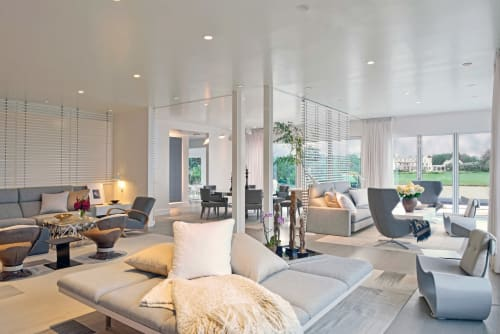 Interior Design by Vicente Wolf Associates seen at Private Residence, Water Mill - Weekend House in the Hamptons