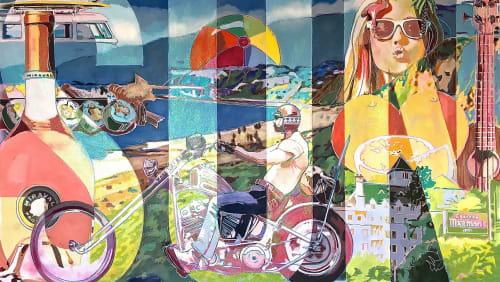 Mark Boomershine - Paintings and Murals