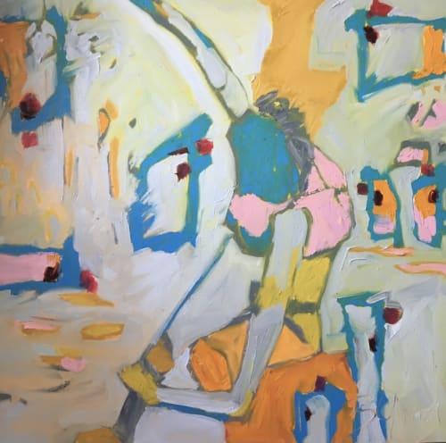 Paintings by Beth Gandy seen at Creator's Studio, Dallas - Calamity