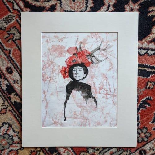 Paintings by Jessica Flores Design seen at Valparaiso, Valparaiso - Georgia Fine Art Print