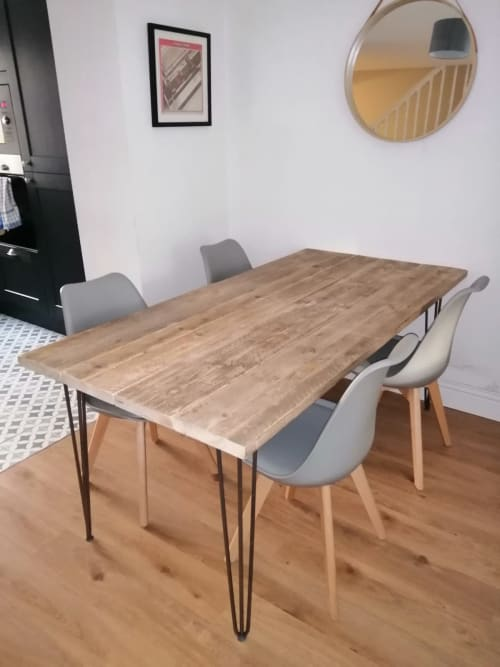 Tables by Stanley Joinery seen at Private Residence - Reclaimed Table.