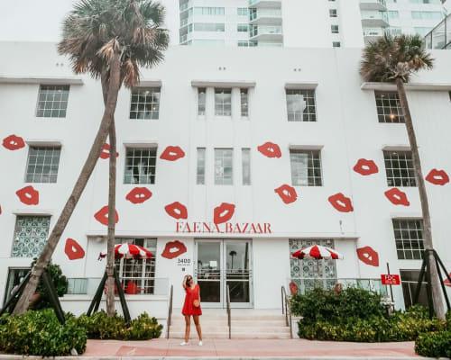 Architecture by Roy France seen at Faena Bazaar, Miami - Faena Bazaar Design