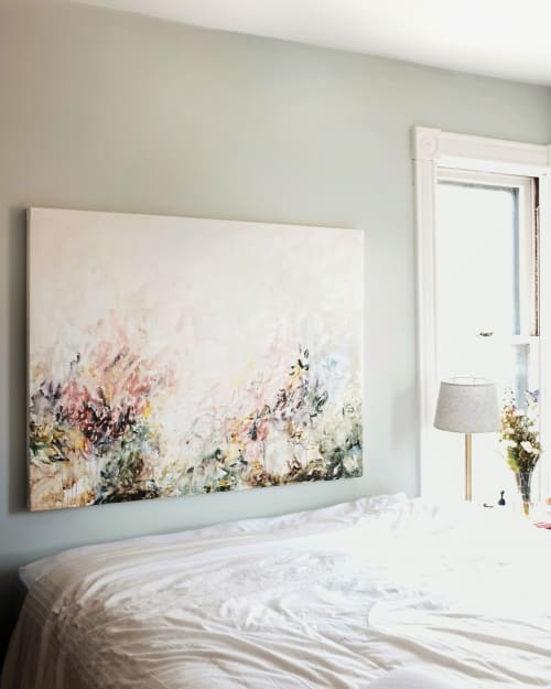 Paintings by Emily Tingey seen at Private Residence, Las Vegas - Parker