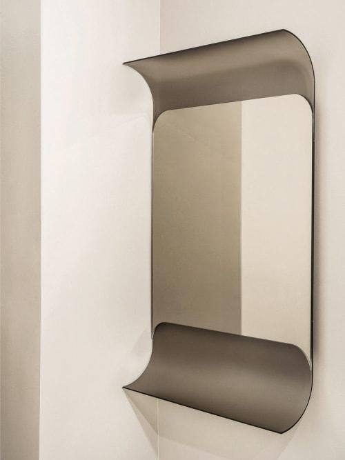 Wall Hangings by Robert Sukrachand seen at Creator's Studio, Brooklyn - Cyc Mirror Wall