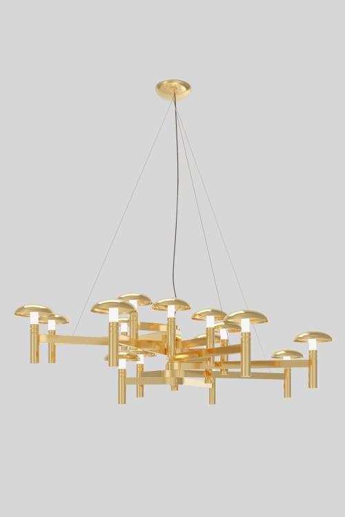 Bell Suspension | Lighting Design by ALGA by Paulo Antunes
