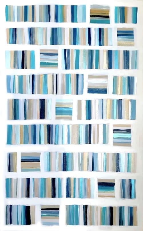 'EXUMA'   Paintings by Linnea Heide contemporary fine art
