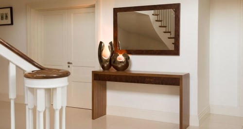 Tables by Martin Gallagher Furniture seen at Private Residence, Sligo - Console Table