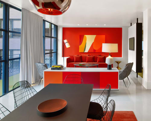 Interior Design by In Situ Design seen at 24 E 39th St, New York - The William Hotel