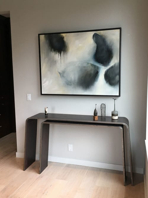 Paintings by Monika Steiner Fine Art seen at Private Residence, Tiburon - Abstract Painting