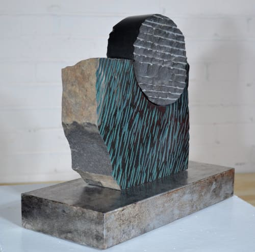 Sculptures by Barry Namm Art seen at Creator's Studio, Hurley - Dream Rain