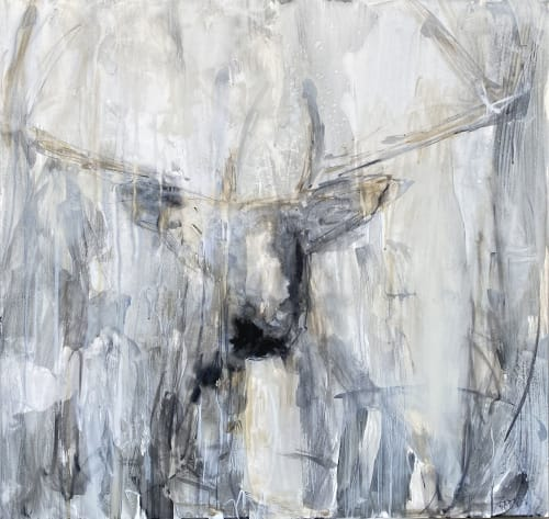 Going Stag | Paintings by Jessica Whitley Studio