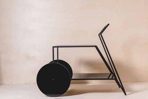 Furniture by Tiago Curioni Studio seen at CASACOR, Jardim Everest - VELVET Tea Cart