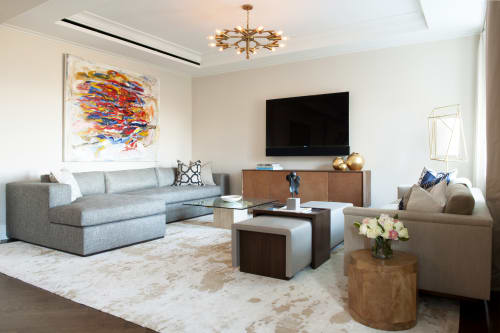 Rugs by Malene B Atelier seen at Private Residence, New York - Oak custom carpet