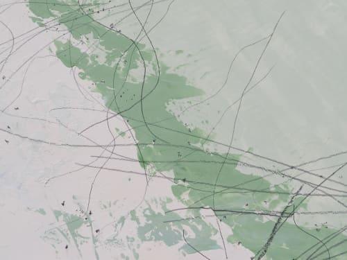 Paintings by LESLIE MORGAN ART seen at San Francisco, San Francisco - Propeller Tracks
