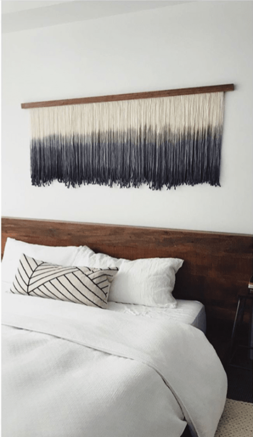 Wall Hangings by Lauren Williams seen at Private Residence, Salida - Shades Of Blue
