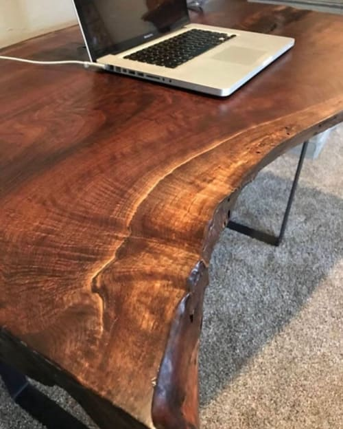 Black Walnut Desk | Tables by All Things New