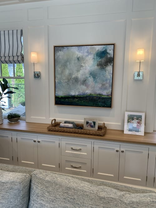 Paintings by JULIA POWELL seen at Private Residence, Boston - Painting