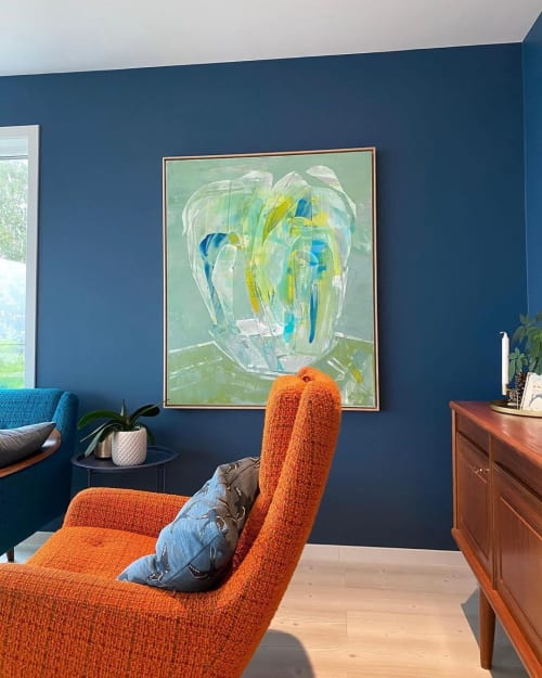 Paintings by Marit Geraldine Bostad seen at Private Residence, Oslo - Melancholic Colourist