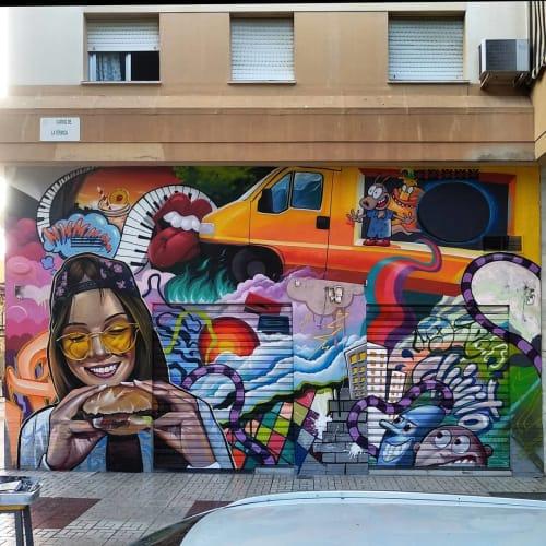 Lalone - Murals and Street Murals