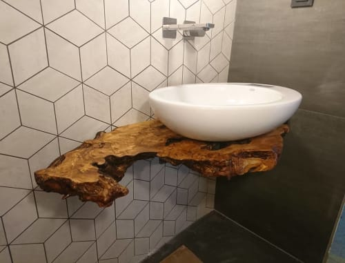 Furniture by PRIMUS designs seen at Private Residence, Ljubljana - Sink Holder