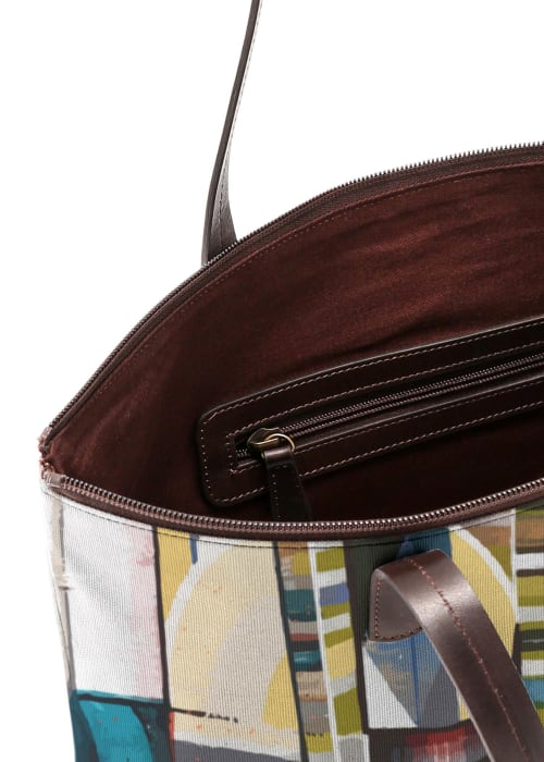 Apparel & Accessories by John Osgood seen at 145 9th St, San Francisco - Mid Century Modern Statement Bag