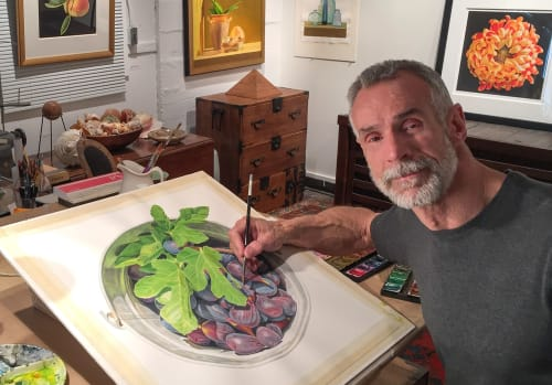 Paintings by John Arbuckle seen at Private Residence - The Sweet Life