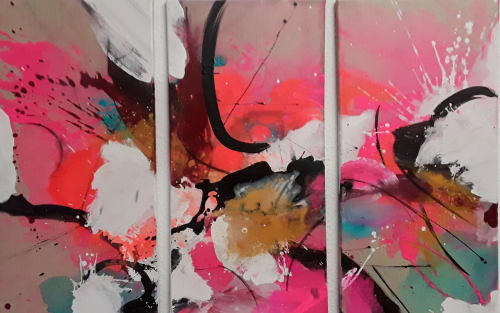 Paintings by Anke Ryba seen at Private Residence, Sulz - Akemi
