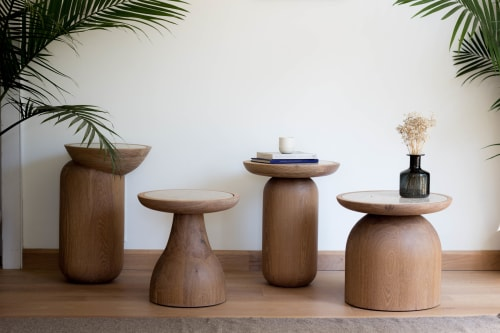 Tables by SinCa Design seen at Manhattan, New York - Mezcalitos Side Tables