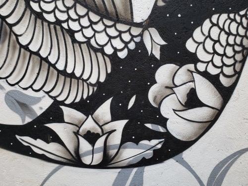 Murals by Revilla pacheco seen at Private Residence, Villa de Zaachila - ALBERTO REVILLA  PACHECO