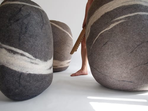 Giant Rock   Benches & Ottomans by KATSU   Katsu Studio in Saint Petersburg